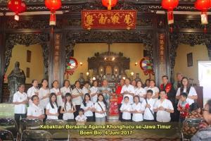 Kebaktian Bersama Agama Khonghucu se-Jawa Timur 4 Juni 2017